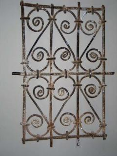 Five Islamic Wrought Iron Wall Decorations or Sculptures - 1876828