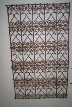 Five Islamic Wrought Iron Wall Decorations or Sculptures - 1876830