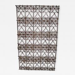 Five Islamic Wrought Iron Wall Decorations or Sculptures - 1879904