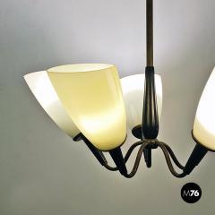Five arm chandelier 1950s - 2034684