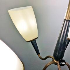 Five arm chandelier 1950s - 2034685
