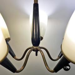 Five arm chandelier 1950s - 2034698