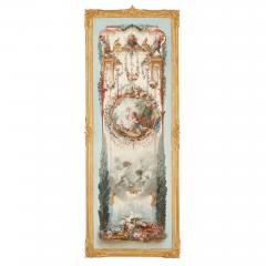 Five wall paintings in the manner of de Clermont and Fragonard - 1290555