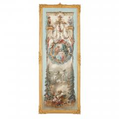 Five wall paintings in the manner of de Clermont and Fragonard - 1290556