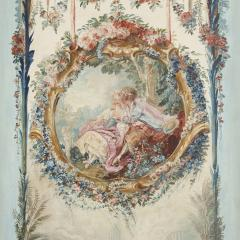 Five wall paintings in the manner of de Clermont and Fragonard - 1290564