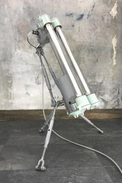 Flameproof Floor Lamp Tripod Warm White T8 LED - 971995