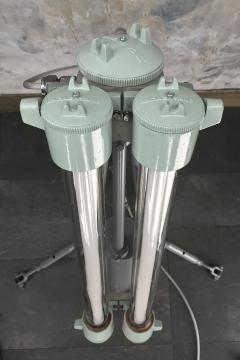 Flameproof Floor Lamp Tripod Warm White T8 LED - 971997