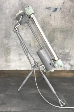 Flameproof Floor Lamp Tripod Warm White T8 LED - 972029