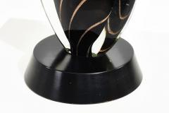Flavio Poli Black Sommerso Murano Lamp by Flavio Poli for Seguso 1950 - 1959786