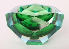 Flavio Poli Flavio Poli Murano Faceted Glass Ashtray 1960s - 414775