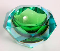 Flavio Poli Flavio Poli Murano Faceted Glass Ashtray 1960s - 414776