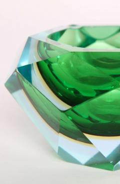 Flavio Poli Flavio Poli Murano Faceted Glass Ashtray 1960s - 414777