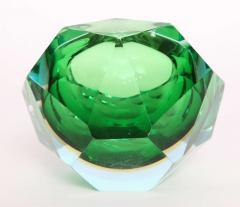 Flavio Poli Flavio Poli Murano Faceted Glass Ashtray 1960s - 414778