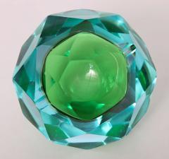 Flavio Poli Flavio Poli Murano Faceted Glass Ashtray 1960s - 414779