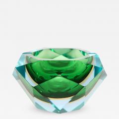 Flavio Poli Flavio Poli Murano Faceted Glass Ashtray 1960s - 421466