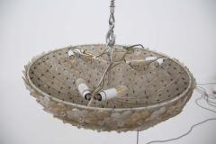 Flavio Poli Murano Glass Ceiling Lamp attr to Flavio Poli for Seguso 1950s - 2126839