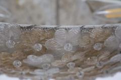 Flavio Poli Murano Glass Ceiling Lamp attr to Flavio Poli for Seguso 1950s - 2126844