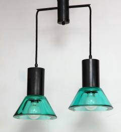 Flavio Poli Seguso Dual Suspension Light Venice Italy 1960 s - 1148502