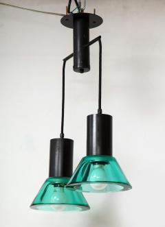 Flavio Poli Seguso Dual Suspension Light Venice Italy 1960 s - 1148505