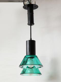 Flavio Poli Seguso Dual Suspension Light Venice Italy 1960 s - 1148506
