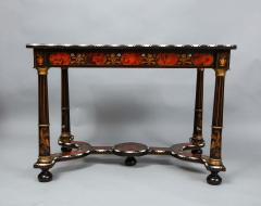 Flemish Baroque Marquetry Decorated Table - 1821991