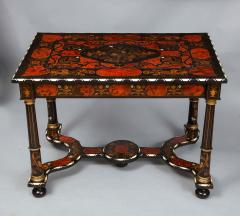 Flemish Baroque Marquetry Decorated Table - 1821992