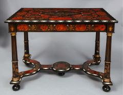 Flemish Baroque Marquetry Decorated Table - 1821993
