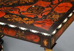 Flemish Baroque Marquetry Decorated Table - 1821994