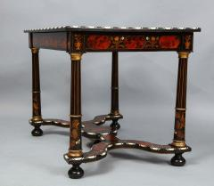 Flemish Baroque Marquetry Decorated Table - 1821996