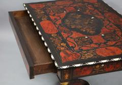Flemish Baroque Marquetry Decorated Table - 1822000