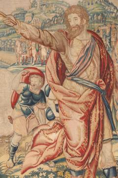Flemish School 17th century fine tapestry of Bruxelles Moses and the Crossing of the Red Sea  - 1412848
