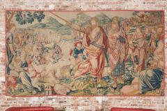 Flemish School 17th century fine tapestry of Bruxelles Moses and the Crossing of the Red Sea  - 1412851