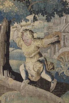 Flemish Verdure Garden Tapestry - 1557820