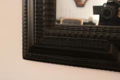 Flemmish Style Ebonized Wall Mirror - 1918485