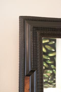Flemmish Style Ebonized Wall Mirror - 1918486