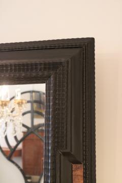 Flemmish Style Ebonized Wall Mirror - 1918489