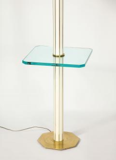 Floor Lamp with Glass Shelf - 1711753