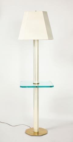 Floor Lamp with Glass Shelf - 1711754
