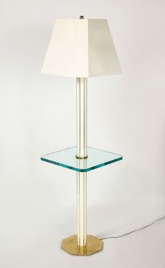 Floor Lamp with Glass Shelf - 1711755