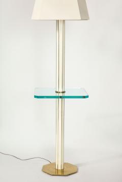 Floor Lamp with Glass Shelf - 1711756
