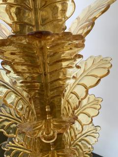 Floor Lamps Palm Tree Murano Glass and Brass Italy - 1450866