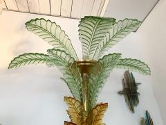 Floor Lamps Palm Tree Murano Glass and Brass Italy - 1450870