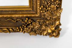 Floor Length Ornately Giltwood Hanging Beveled Wall Mirror - 1038145