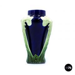 Floral ceramic Liberty vase 1900s - 2004078