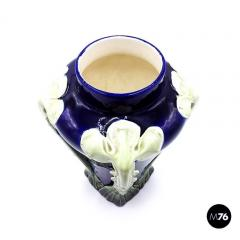 Floral ceramic Liberty vase 1900s - 2004079