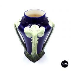 Floral ceramic Liberty vase 1900s - 2004082