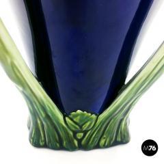 Floral ceramic Liberty vase 1900s - 2004084
