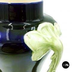 Floral ceramic Liberty vase 1900s - 2004085