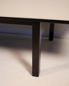 Florence Knoll 1950s Florence Knoll Black Lacquer Cabinet with Maple Interior Model No 541 - 1391919