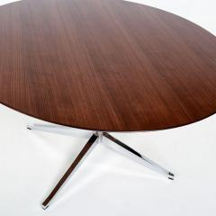 Florence Knoll Classic KNOLL Walnut Round Table Dining Conference 1961 - 1358774